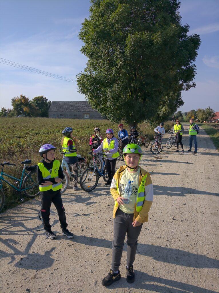 Wycieczka rowerowa klasy 5 i 6