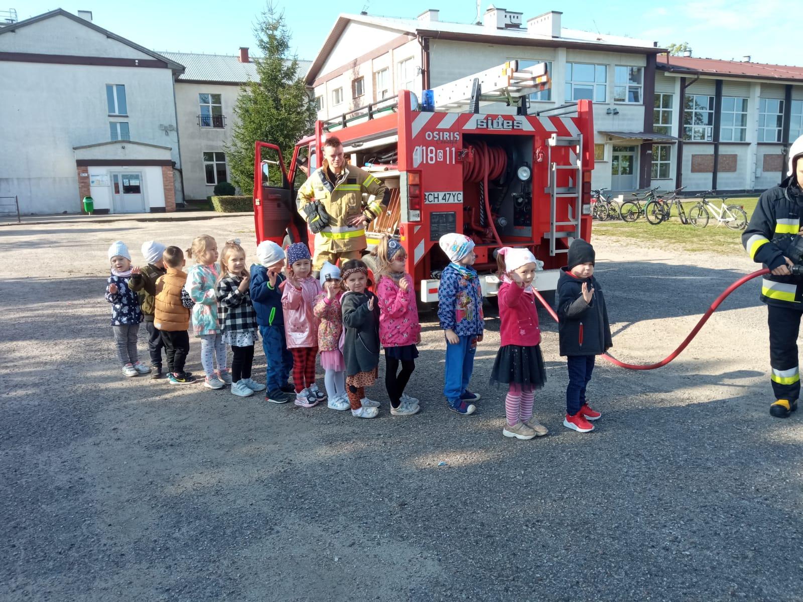 Wizyta strażaków